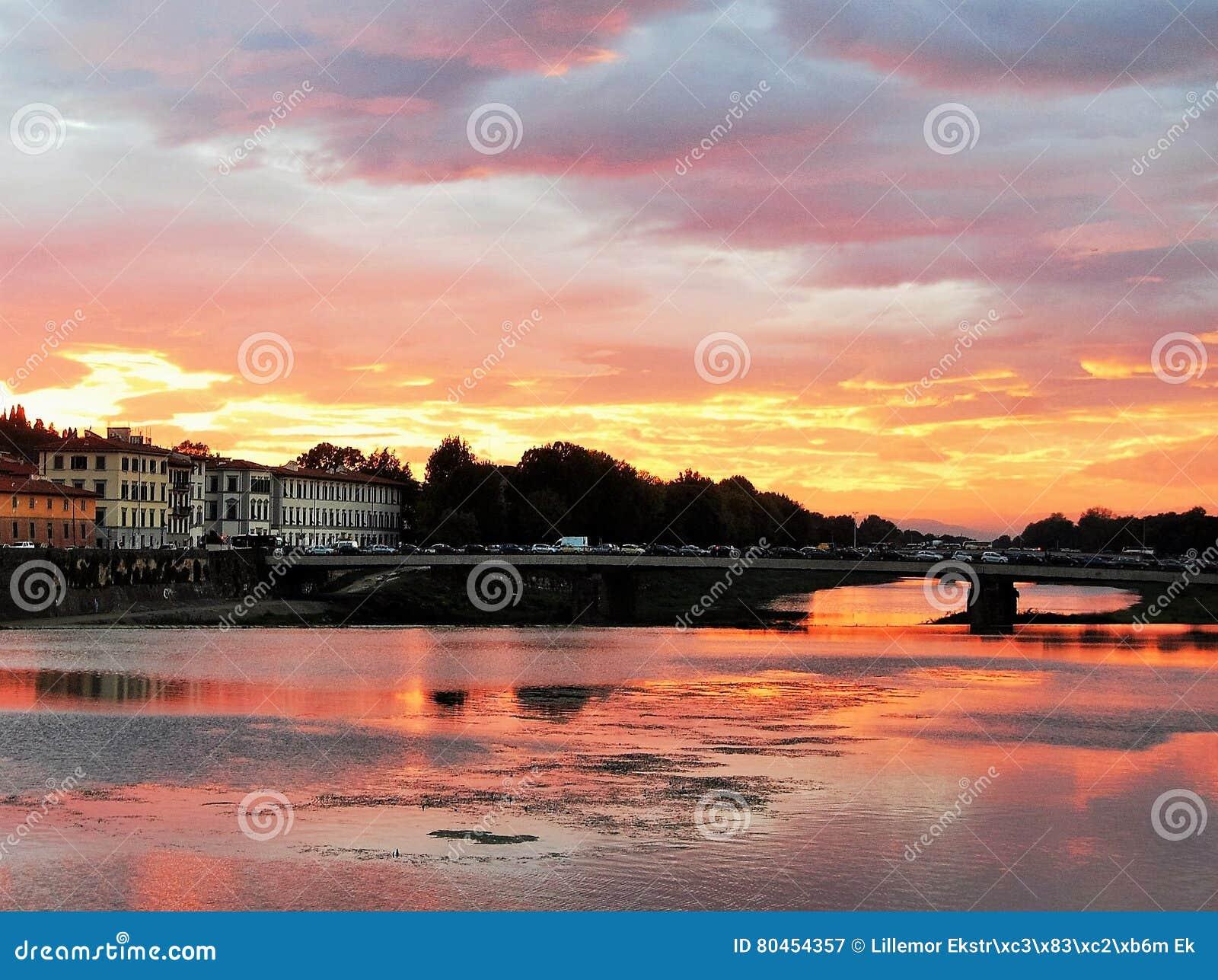 ηλιοβασίλεμα της Φλωρ&epsilon