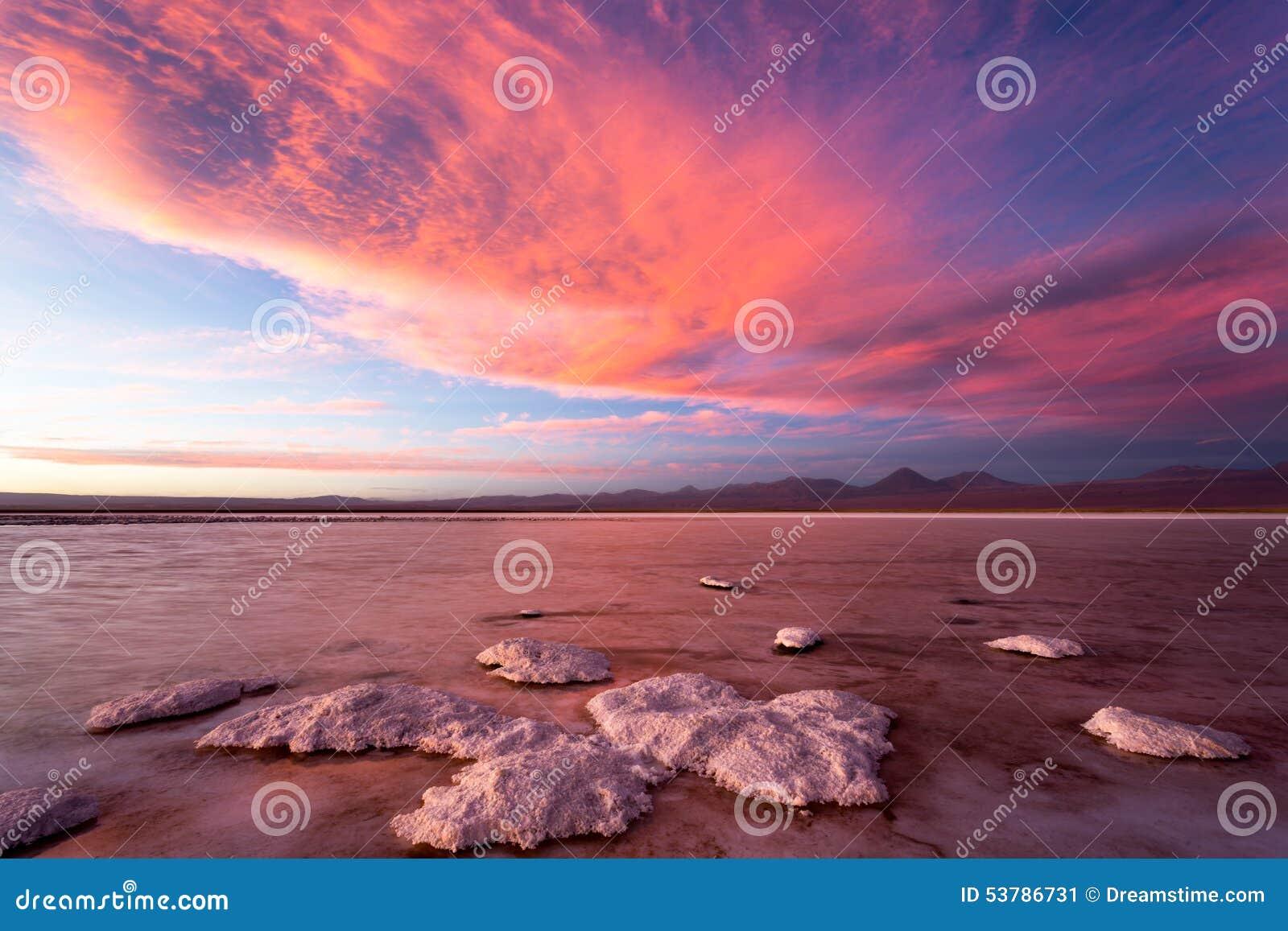 Ηλιοβασίλεμα Atacama