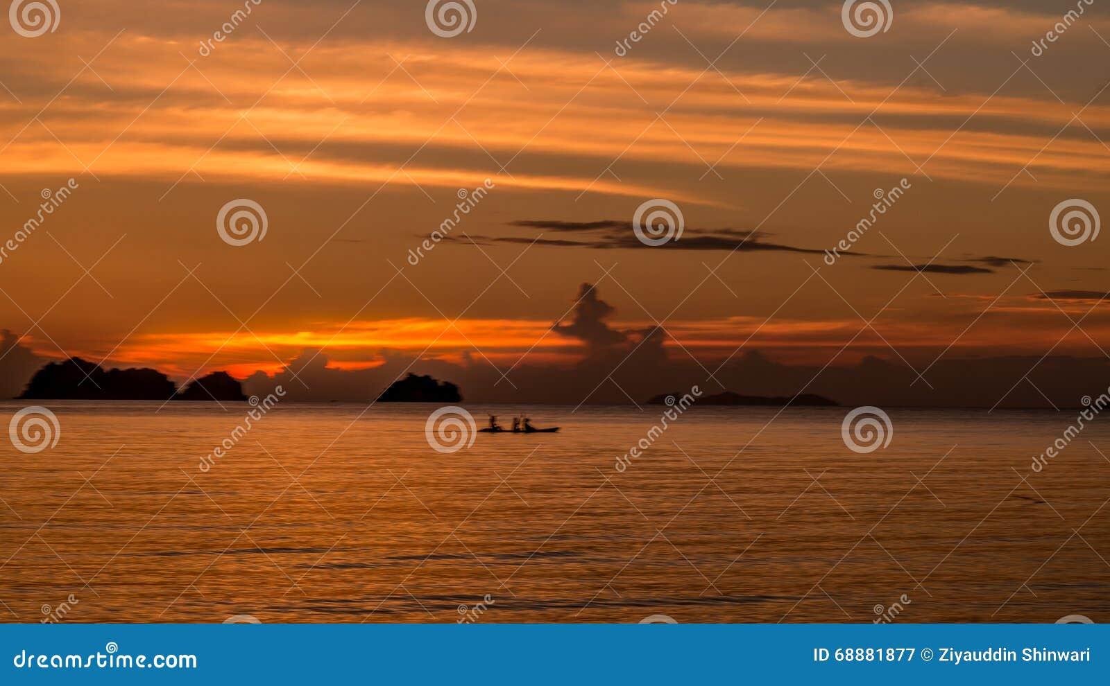Ηλιοβασίλεμα koh του samui Ταϊλάνδη