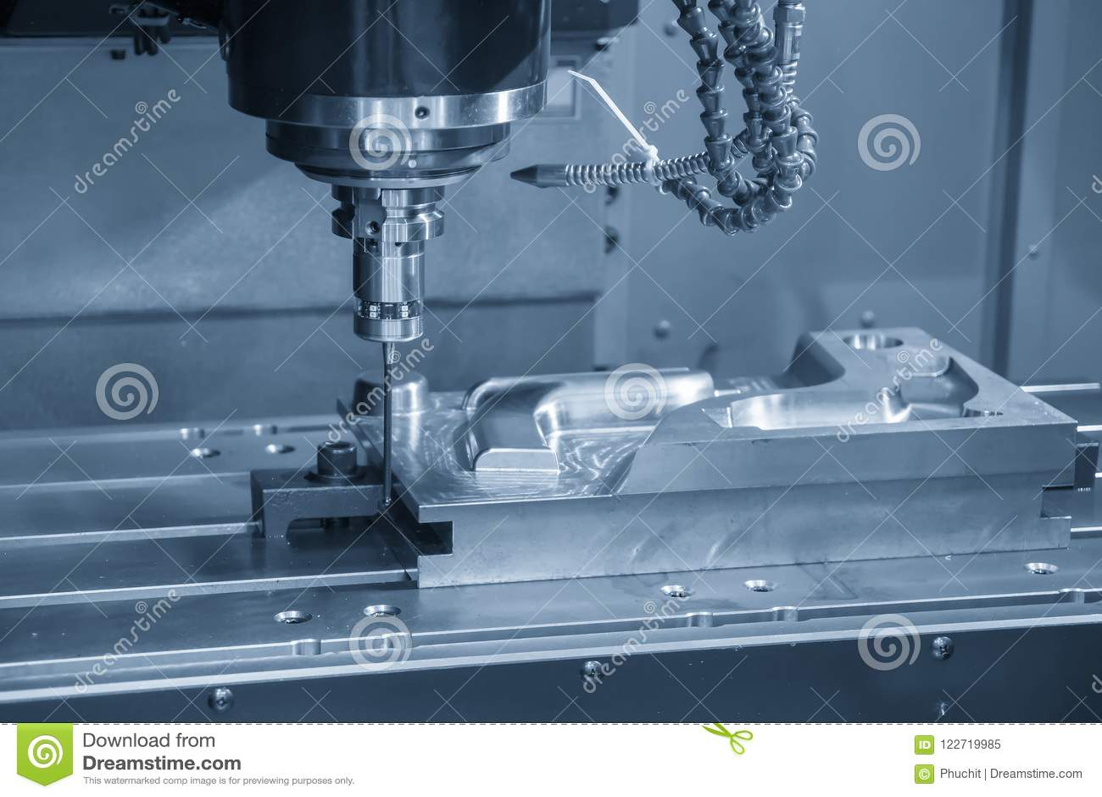 Η κάθετη CNC μηχανή άλεσης συνδέει το CMM έλεγχο