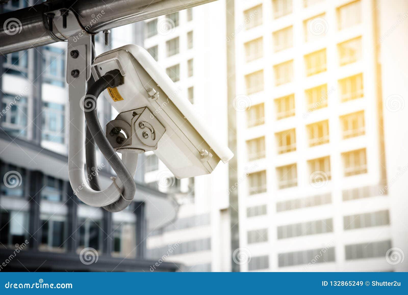 Η κάμερα CCTV που χρησιμοποιεί για προστατεύει τον εγκληματία στη μητρόπολη