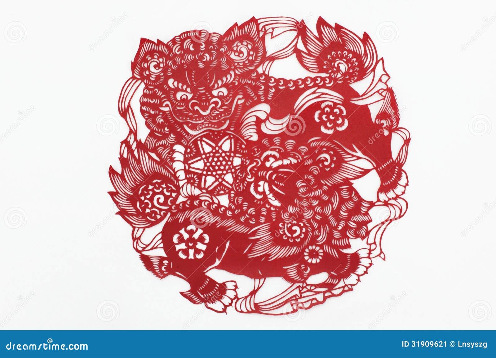 Η Κίνα έκοψε το έγγραφο με το χέρι