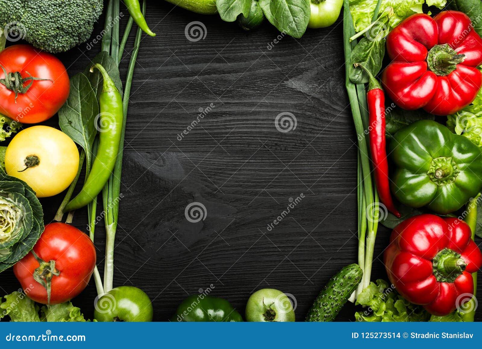 Η κατάταξη των λαχανικών τακτοποίησε στη μορφή πλαισίων, με το διάστημα για το κείμενο ή τη διαφήμιση