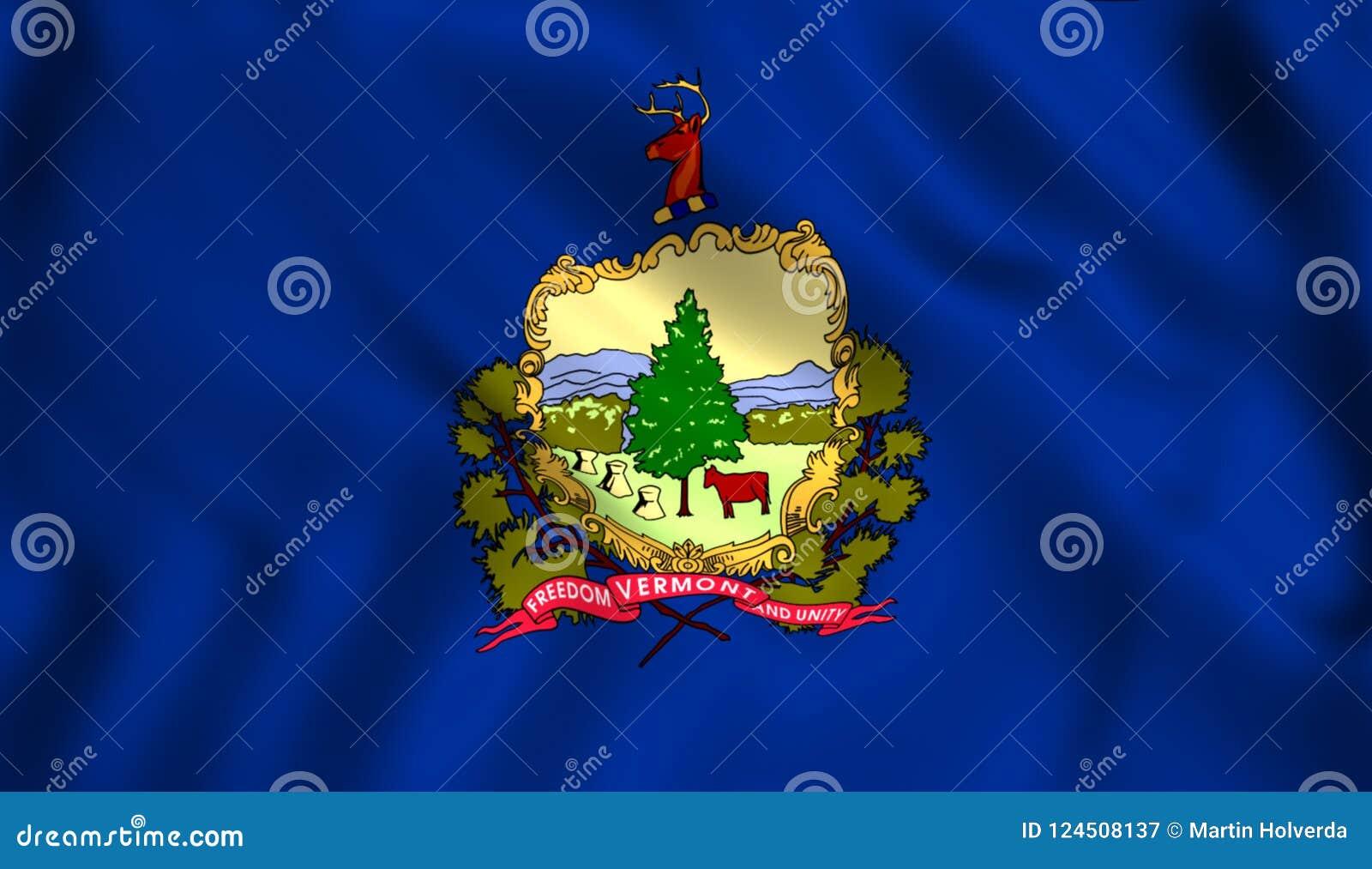 Η κρατική σημαία του Βερμόντ