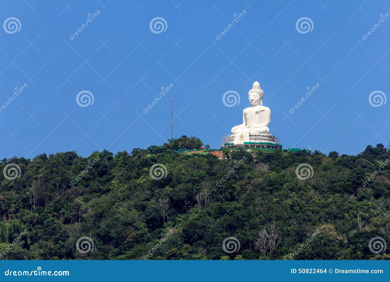Η μεγάλη εικόνα του Βούδα στο βουνό