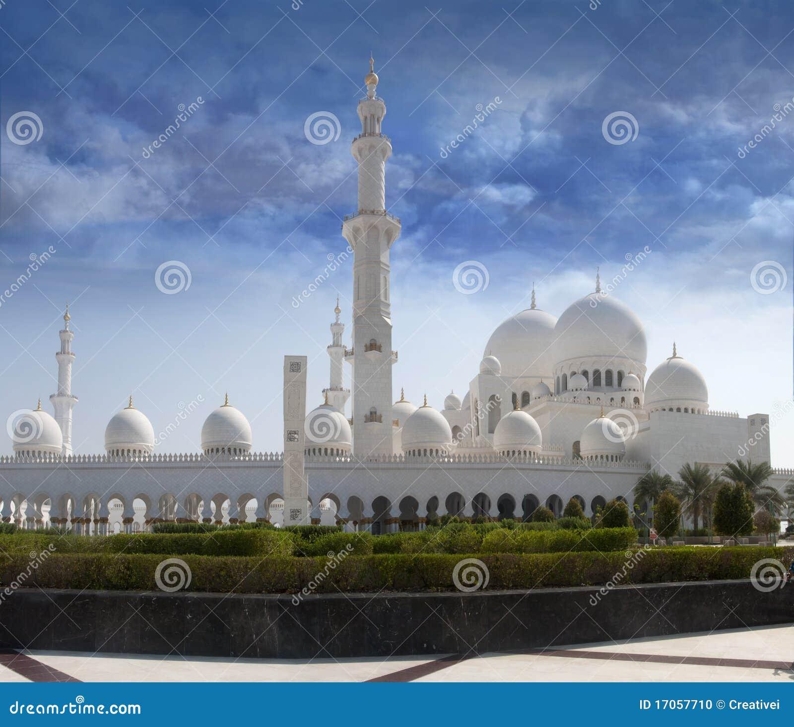 η μπροστινή sheikh μουσουλμαν&