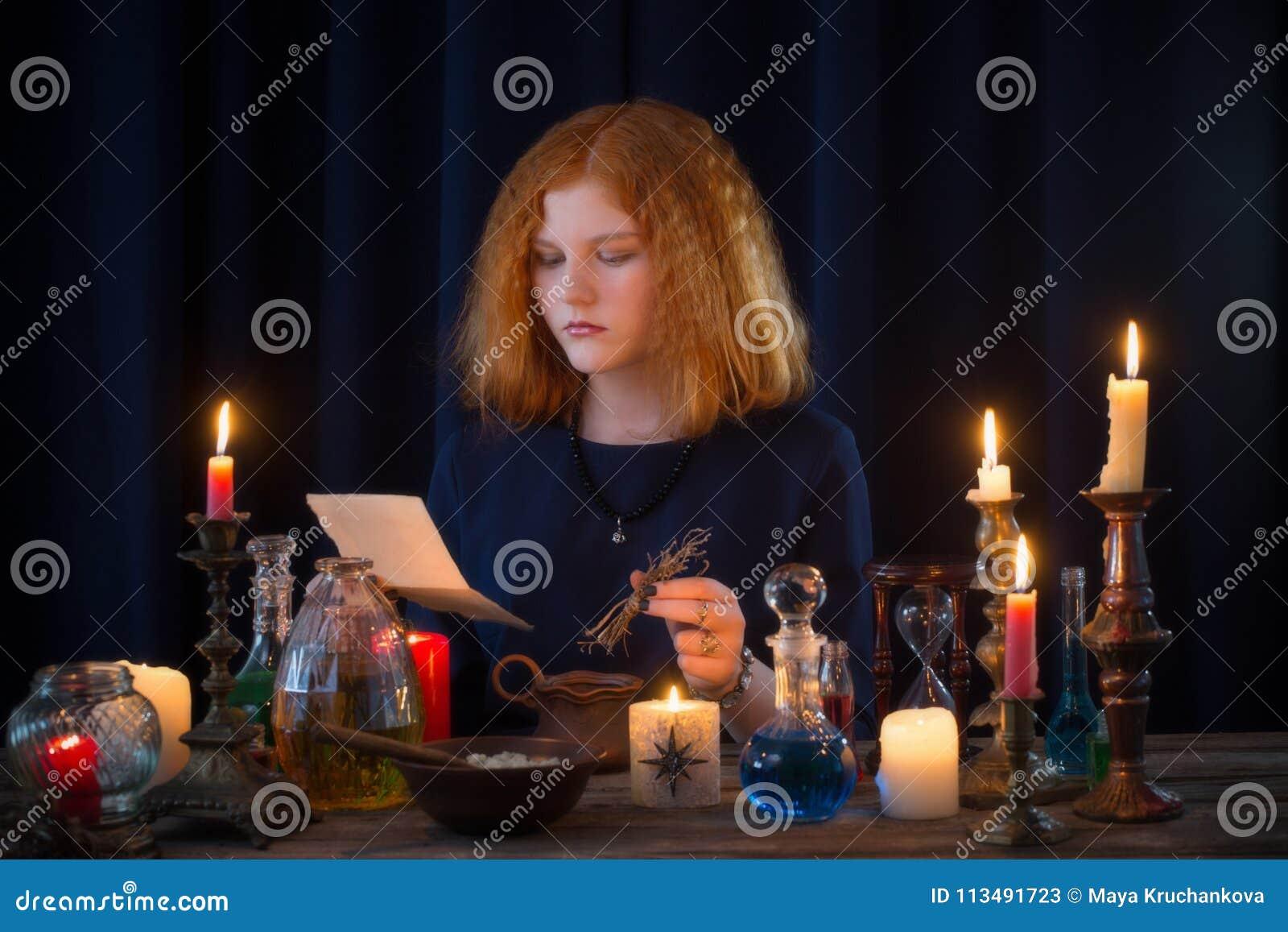 Η νέα μάγισσα συμμετέχει witchcraft