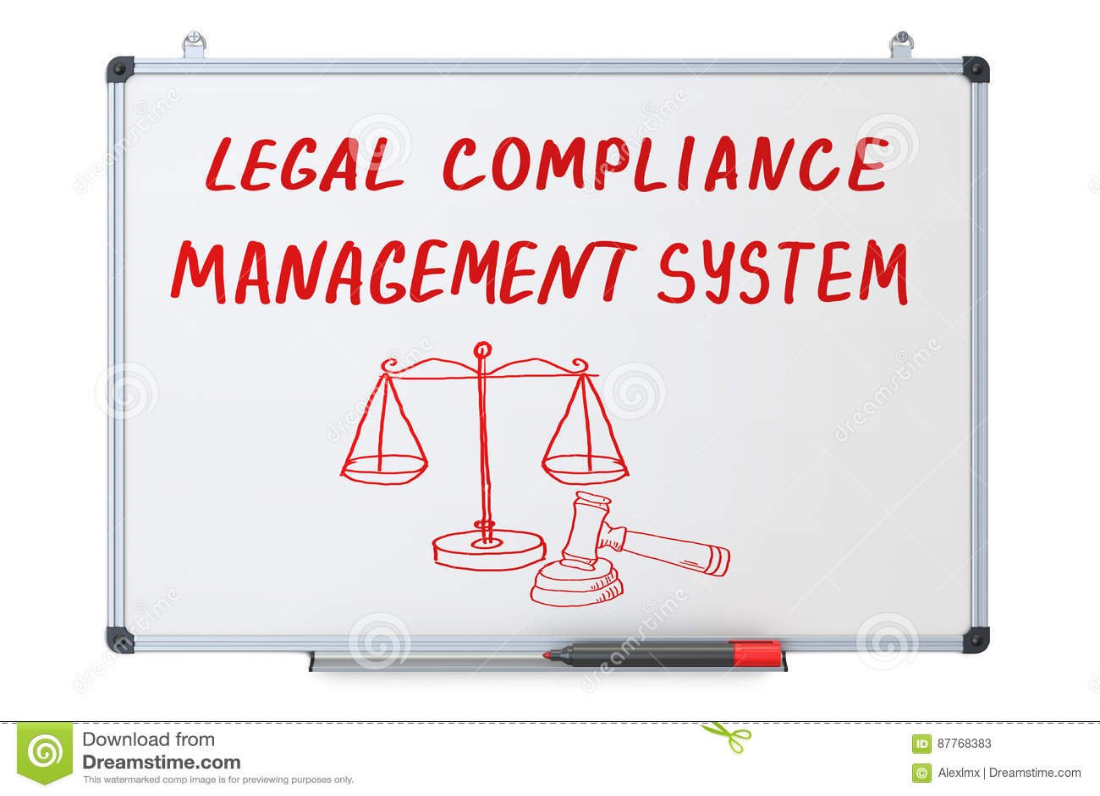 Η νομική συμμόρφωση, έννοια συστημάτων διαχείρισης στον ξηρό σβήνει