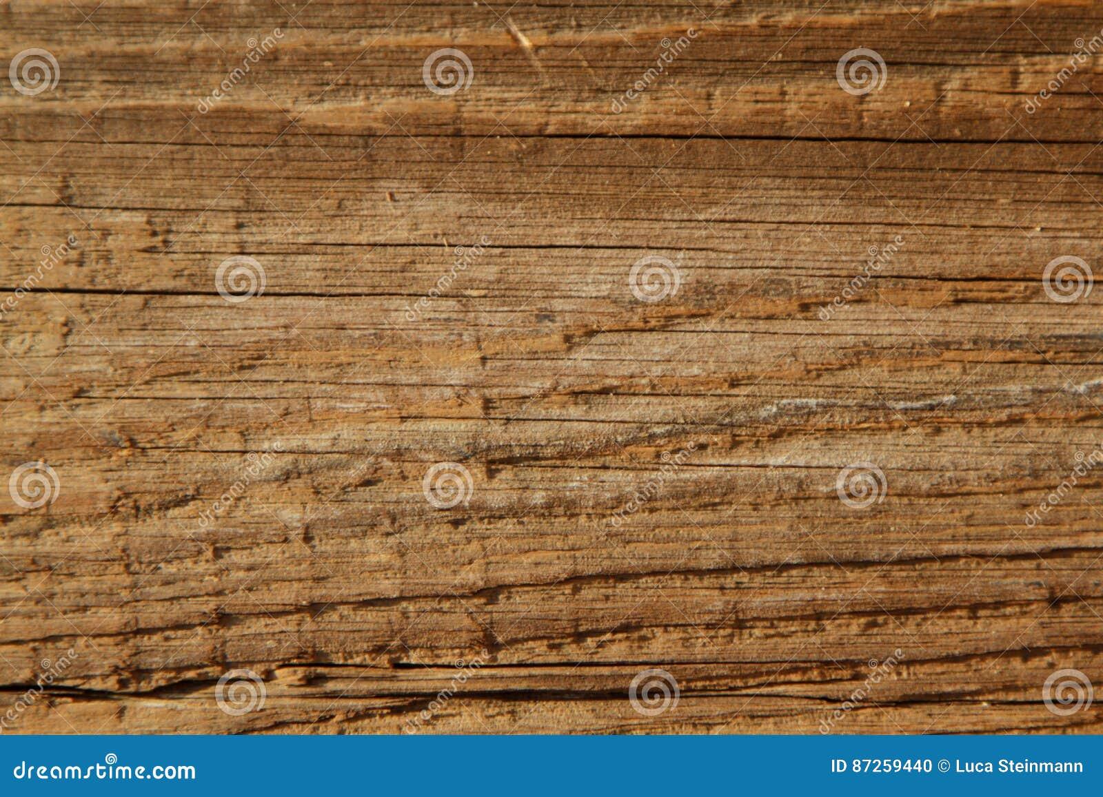 Η ξύλινη σύσταση στην αντίκα κοιτάζει