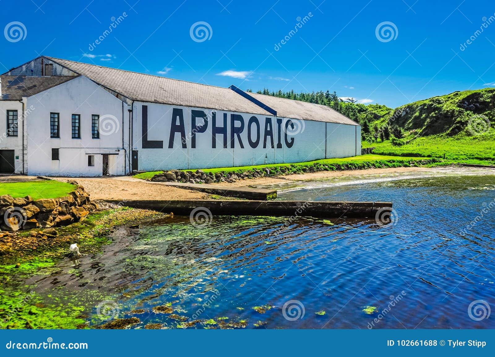 Η οινοπνευματοποιία Laphroaig