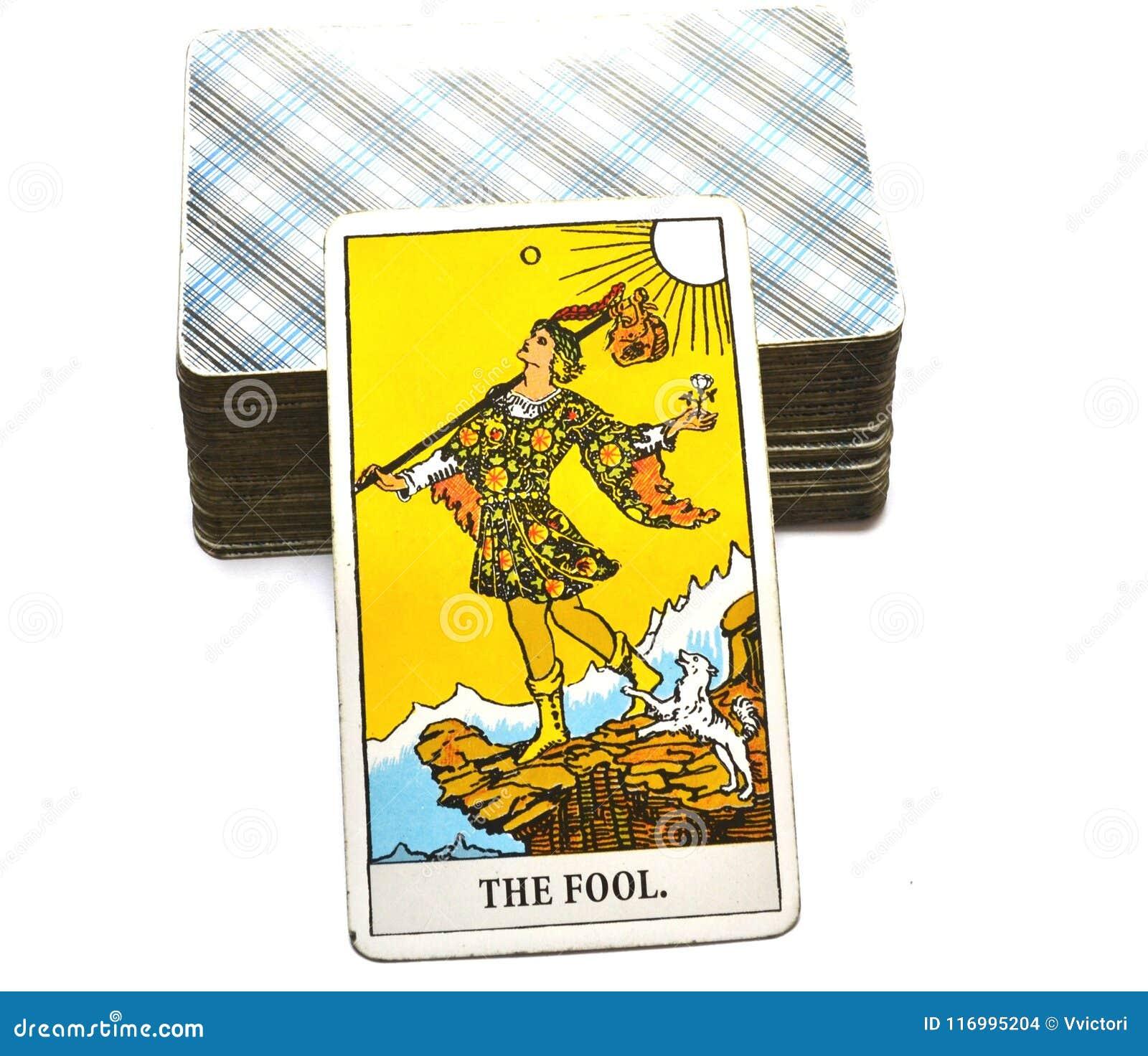 Η πίστη αναγέννησης Begginins καρτών Tarot ανόητων
