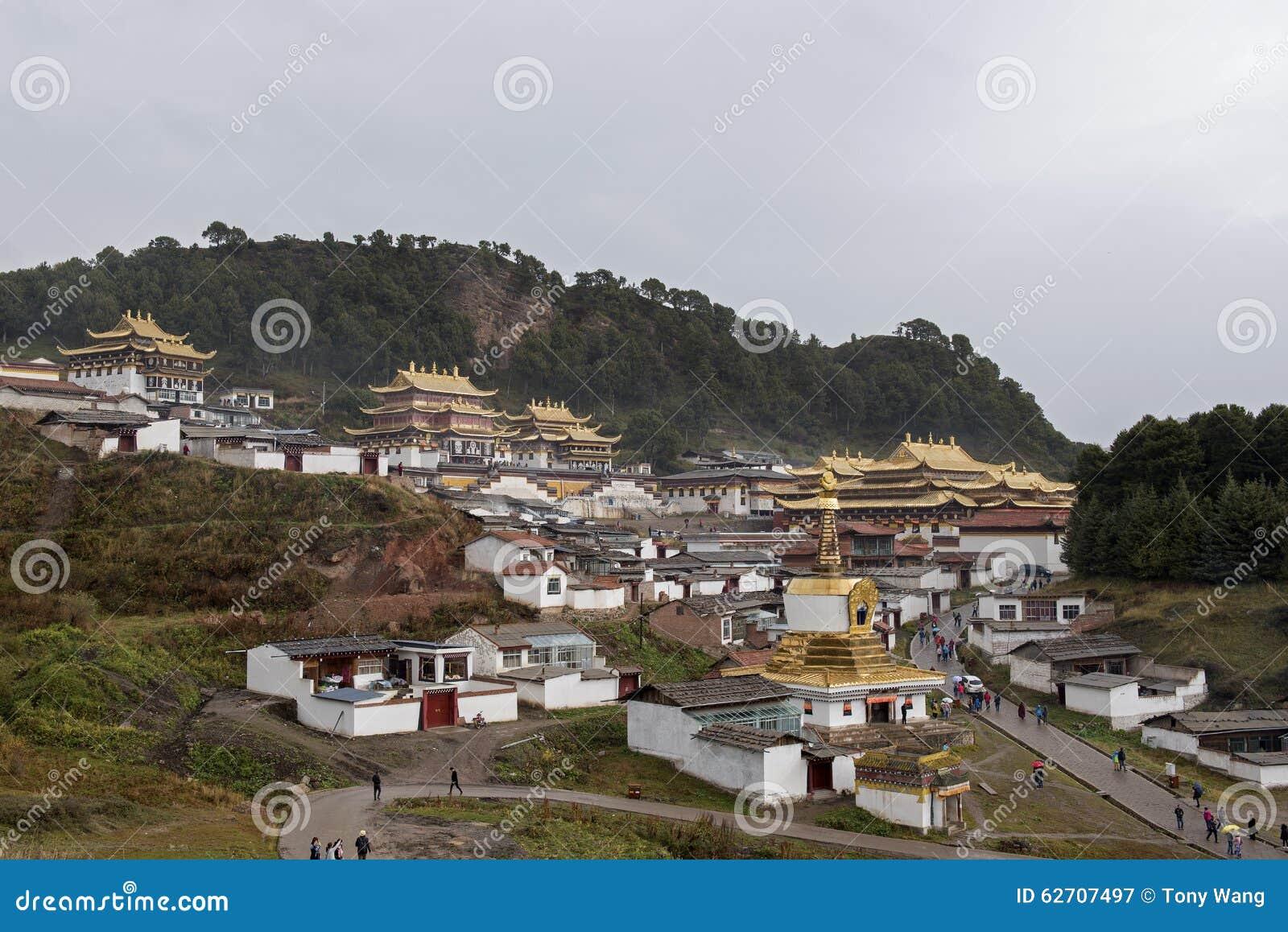 Η περίληψη του ναού LangMu