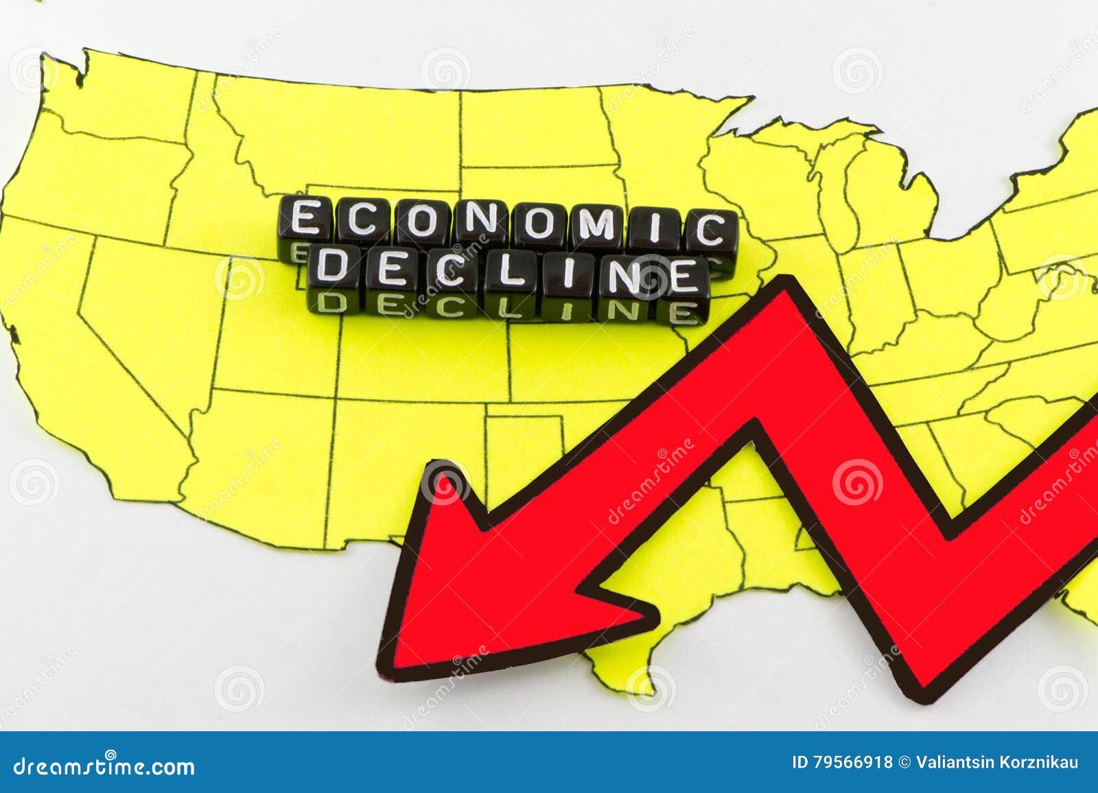 Η πτώση της αμερικανικής οικονομίας ως σύμβολο