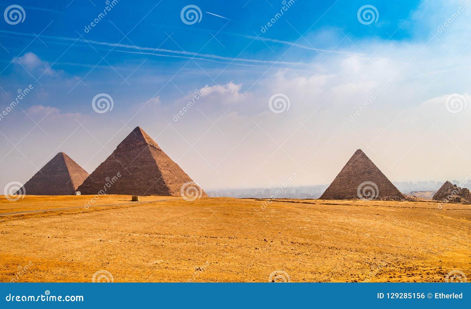 Η πυραμίδα Khufu στην Αίγυπτο