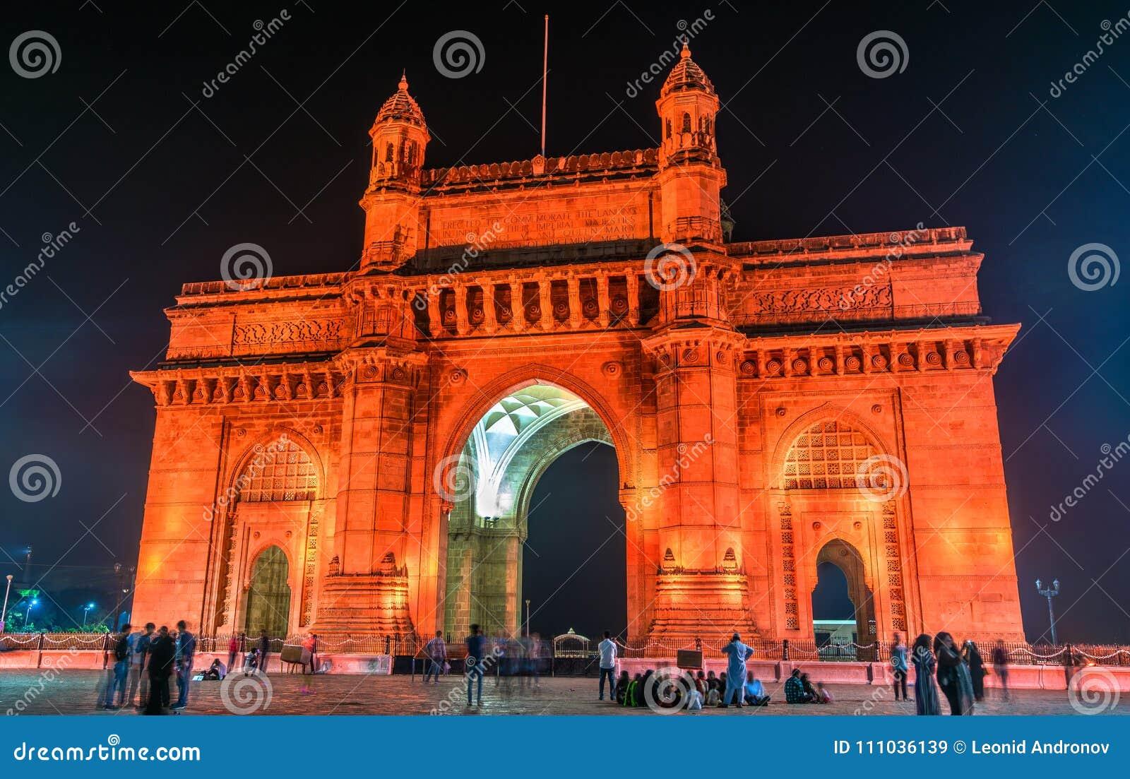 Η πύλη της Ινδίας σε Mumbai