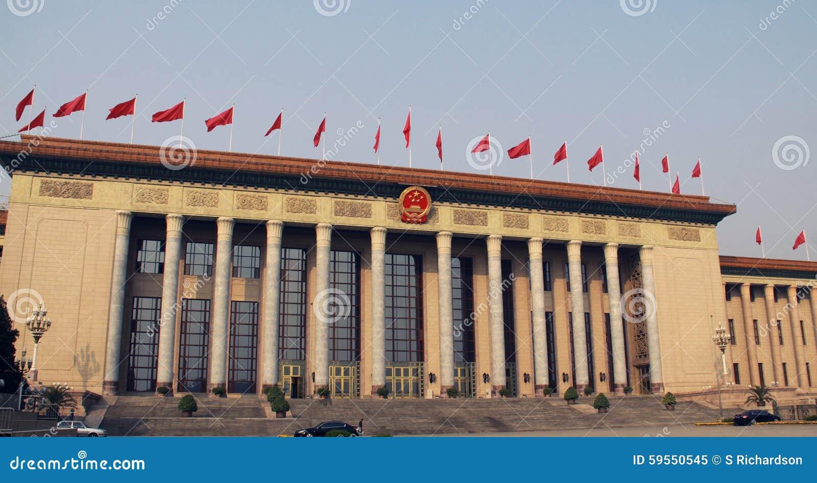 η πλατεία του Πεκίνου