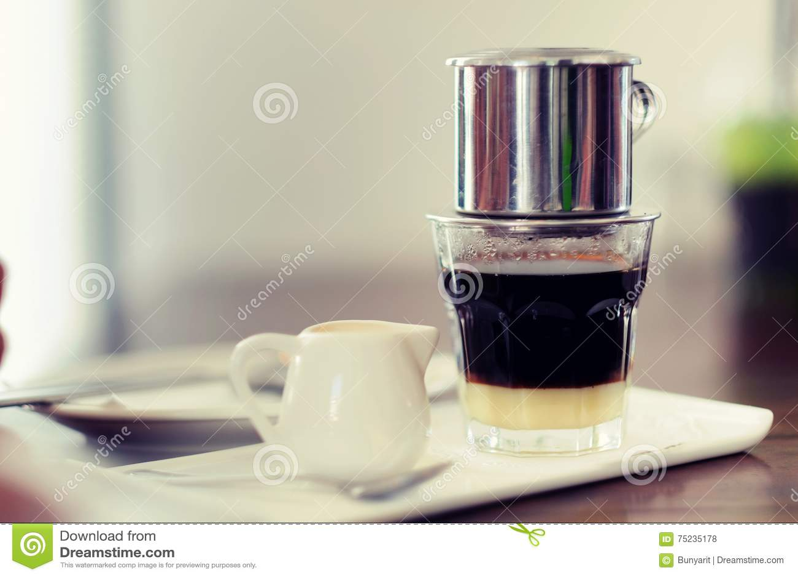 Η σταλαγματιά βιετναμέζικα καφέ