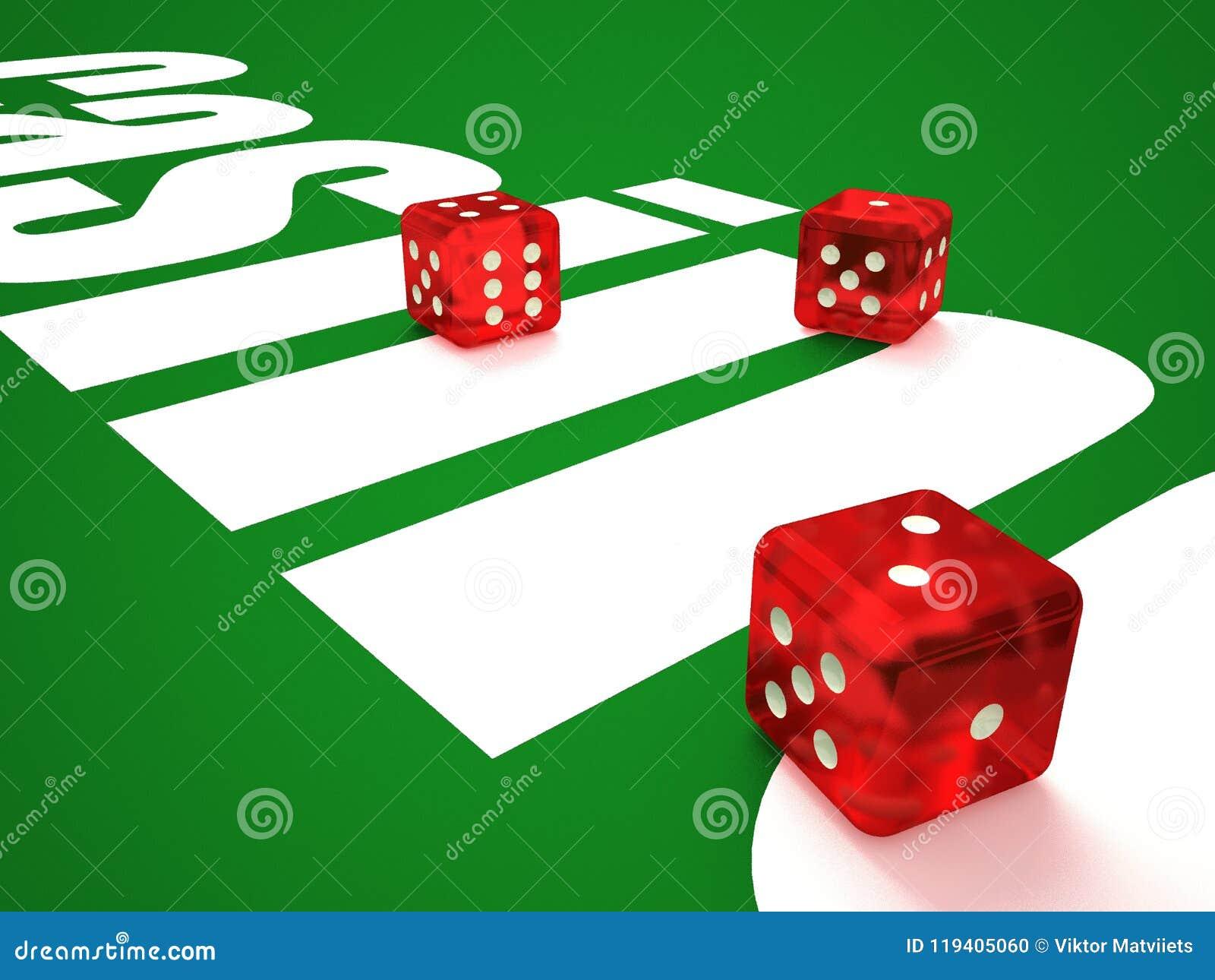 Η σύνθεση χωρίζουν σε τετράγωνα και τα τσιπ χαρτοπαικτικών λεσχών