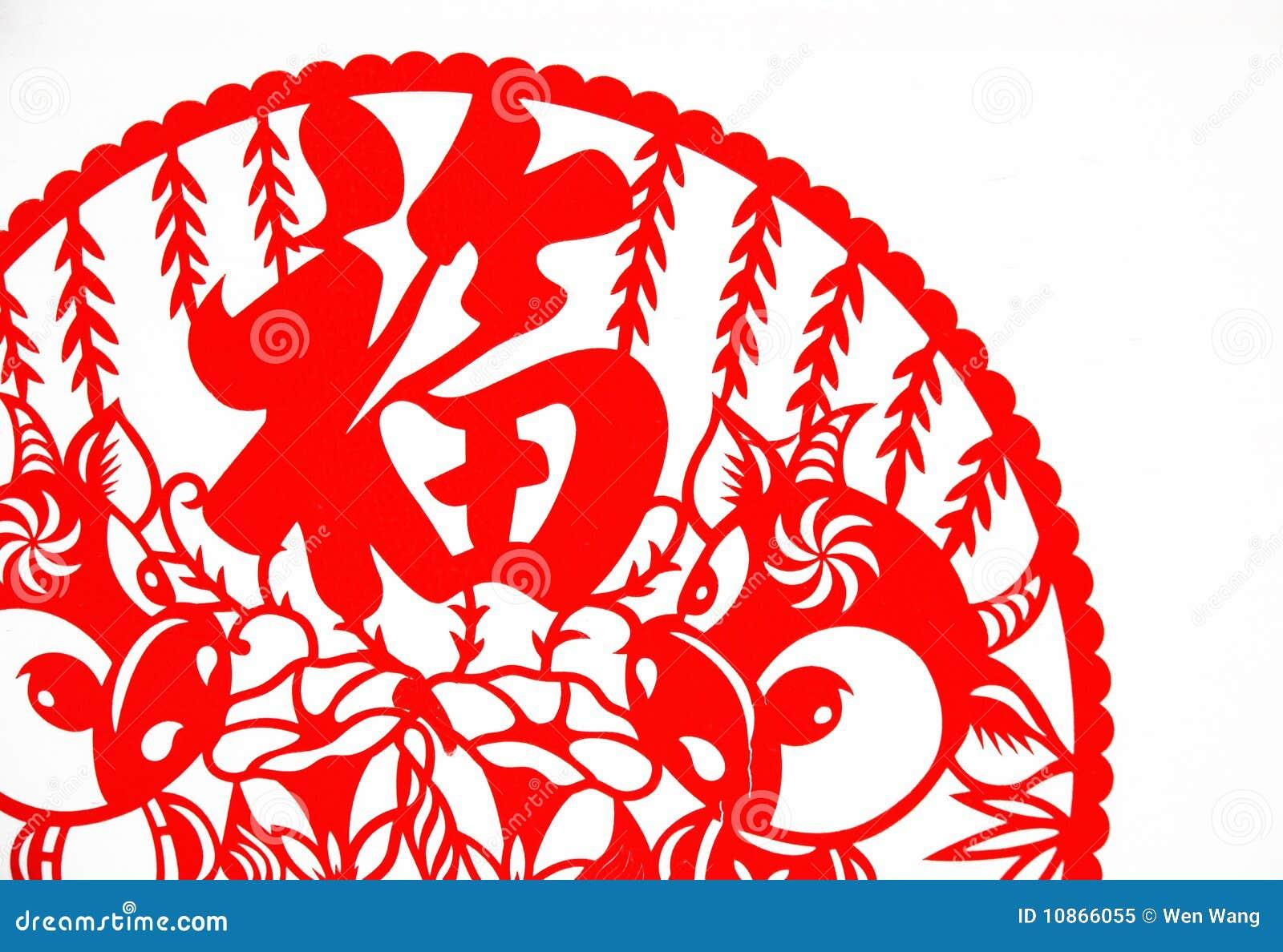 η τέχνη κινέζικα έκοψε το έγ&ga