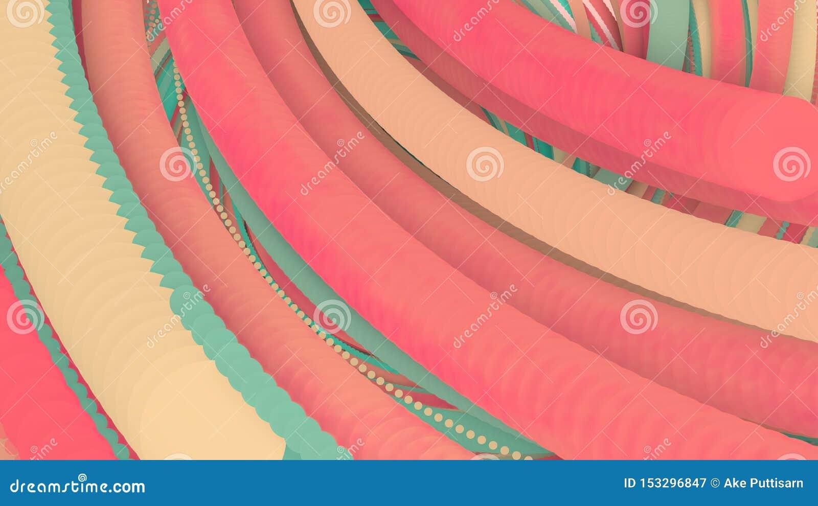 η τρισδιάστατη απεικόνιση, τρισδιάστατη απόδοση, αφαιρεί το γεωμετρικό υπόβαθρο, γραμμές που τα σημεία κύκλων είναι πολύ κοντά Μέ