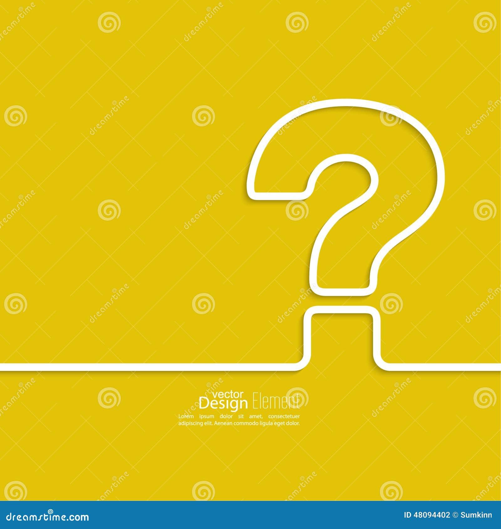 η τρισδιάστατη ερώτηση σημαδιών εικονιδίων δίνει
