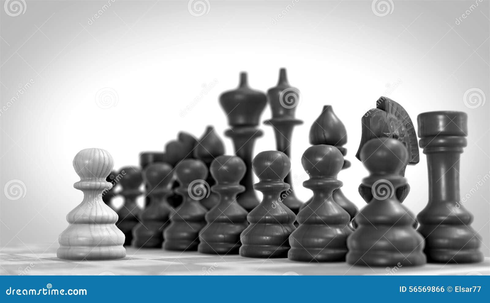 η τρισδιάστατη υψηλή εικόνα αριθμών σκακιού ανασκόπησης μαύρη δίνει τη διάλυση
