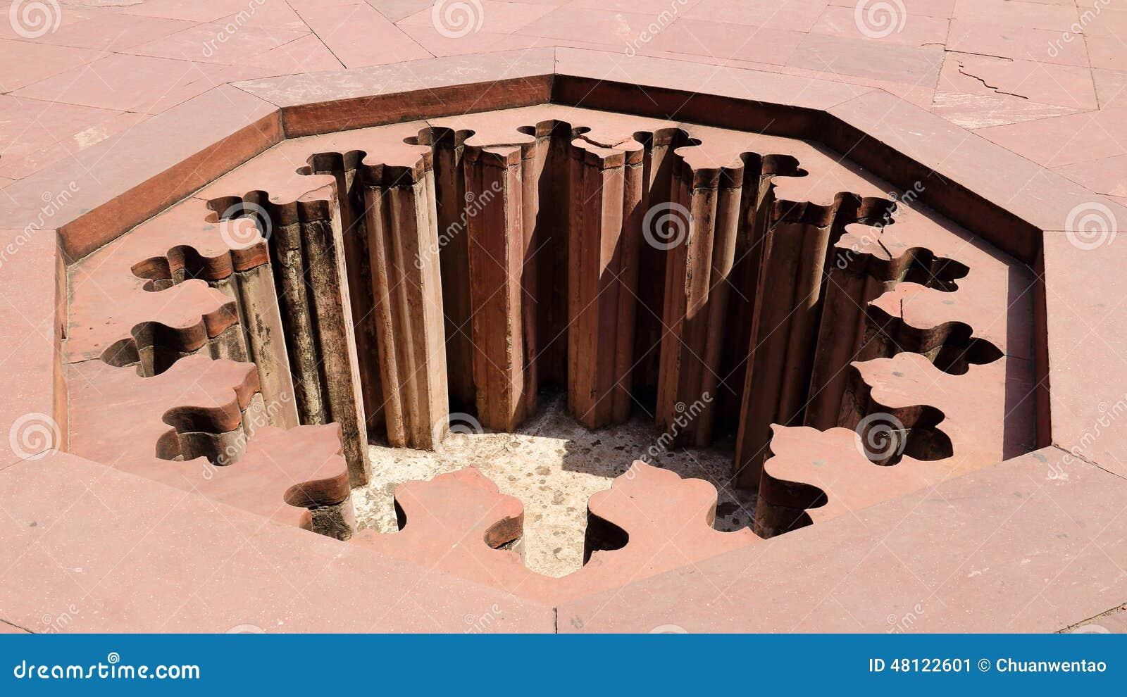 Η τρύπα του οχυρού Agra