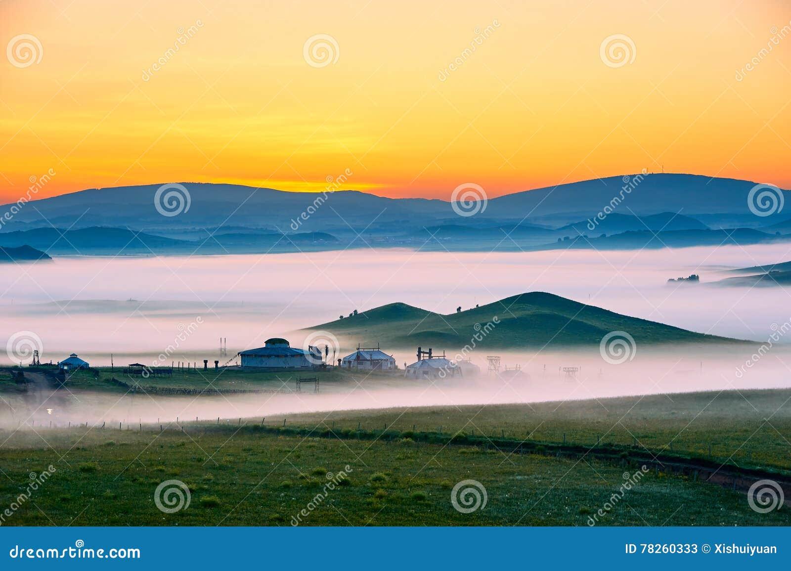 Η υδρονέφωση και οι λόφοι πρωινού