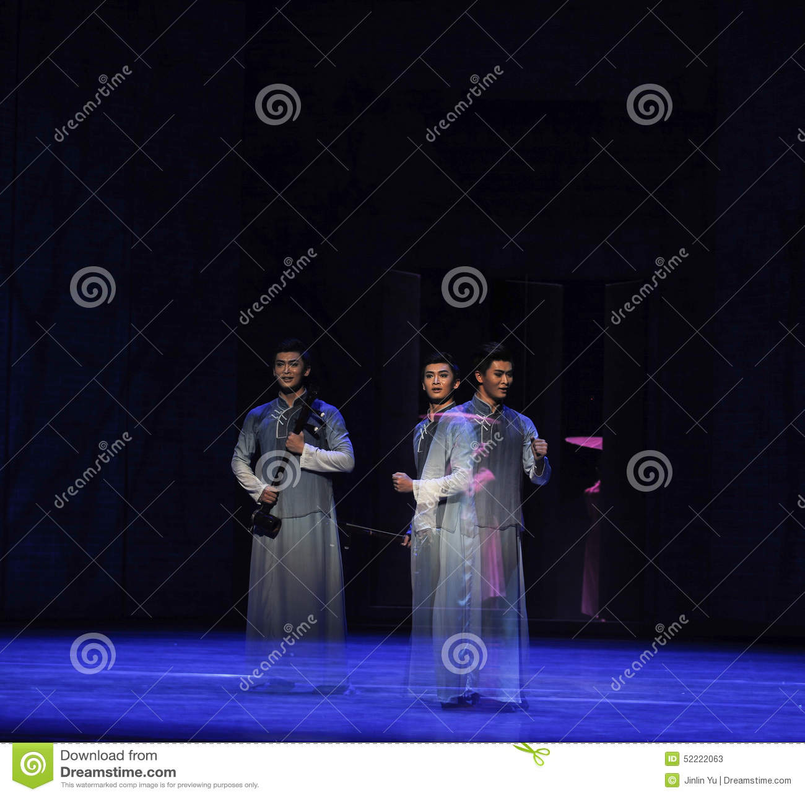 Η φανταστικός-δεύτερη πράξη των γεγονότων δράμα-Shawan χορού του παρελθόντος
