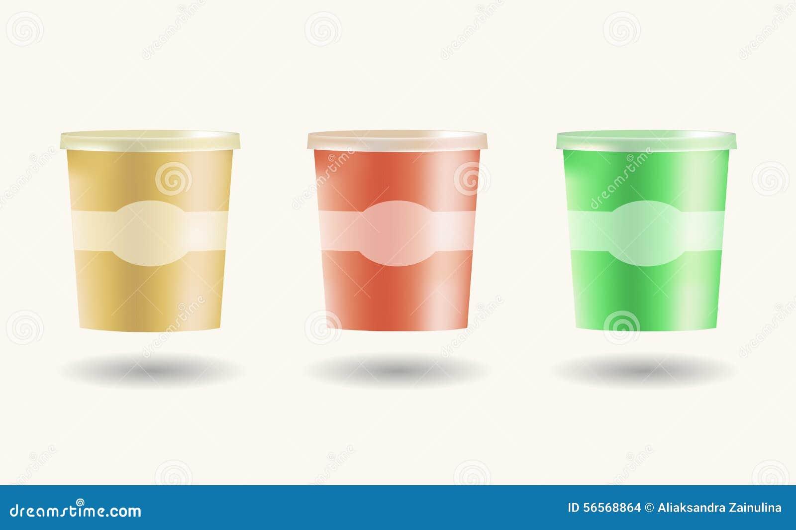 Download Η χλεύη έθεσε επάνω στα τρόφιμα το πλαστικό εμπορευματοκιβώτιο κάδων σκαφών για Διανυσματική απεικόνιση - εικονογραφία από πάγος, πλαστικό: 56568864