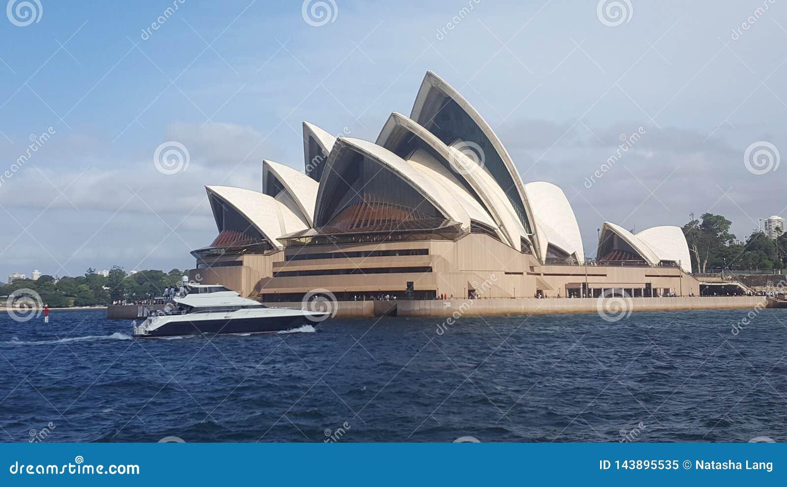 Η Όπερα του Σίδνεϊ σε NSW Αυστραλία