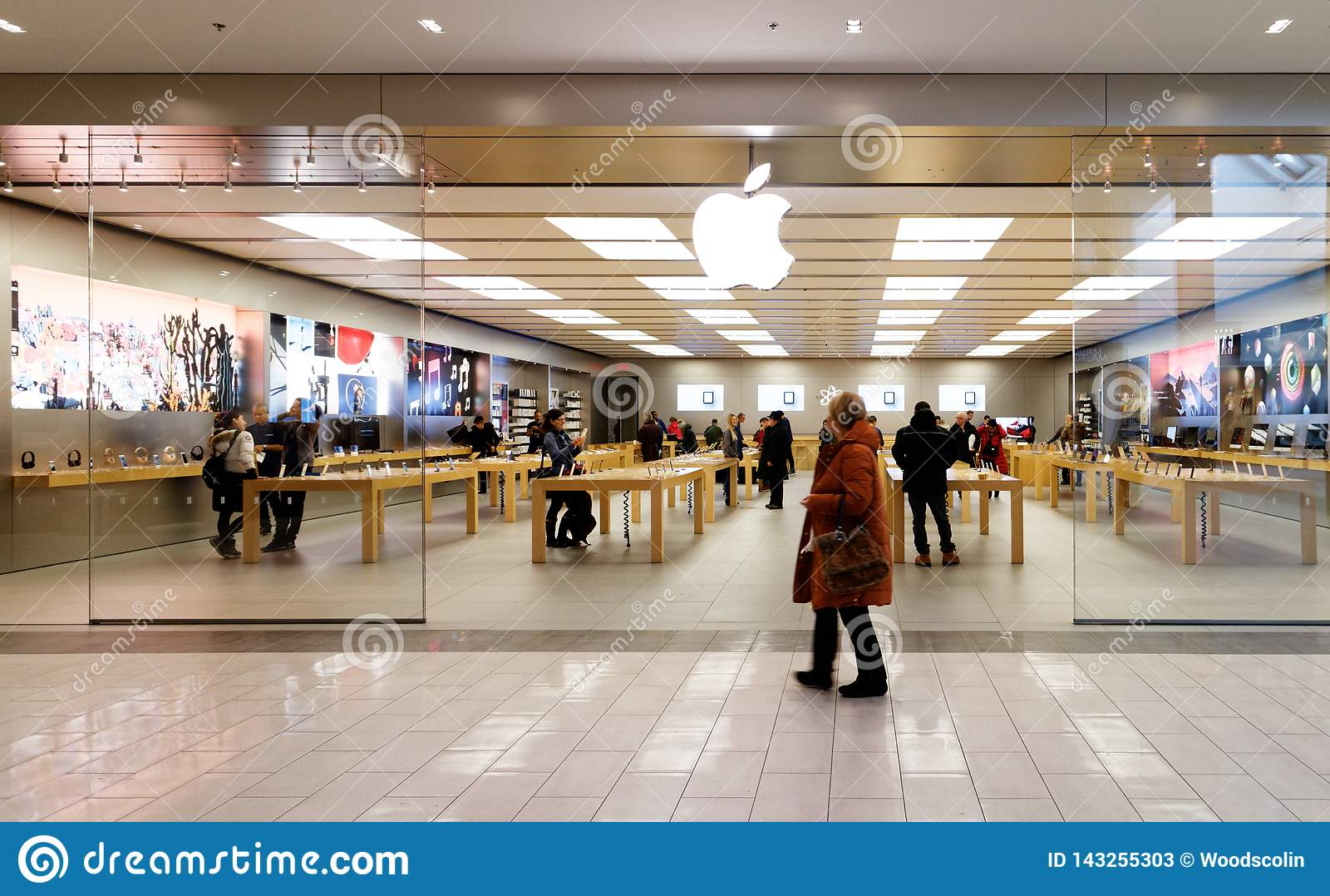Η Apple iStore σε Ste Foy, Κεμπέκ