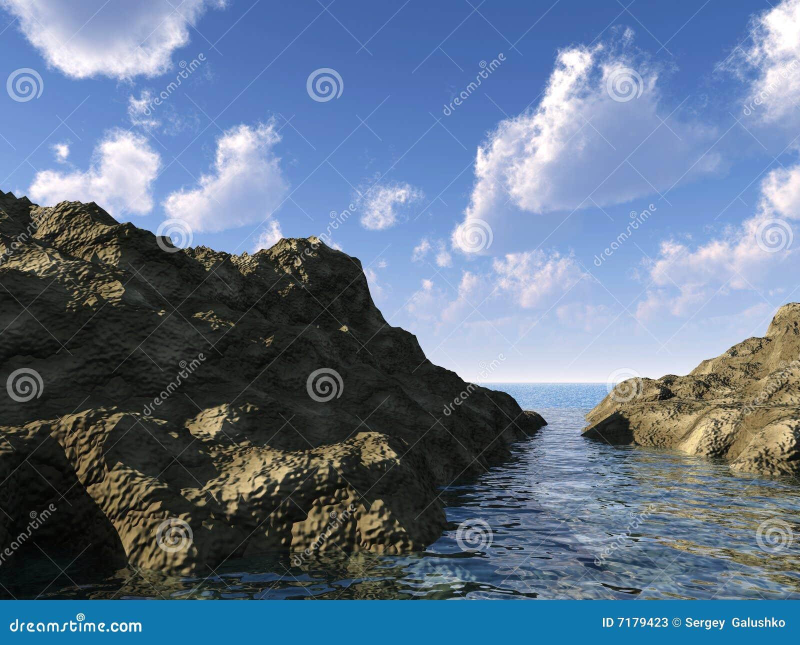 θάλασσα βράχων
