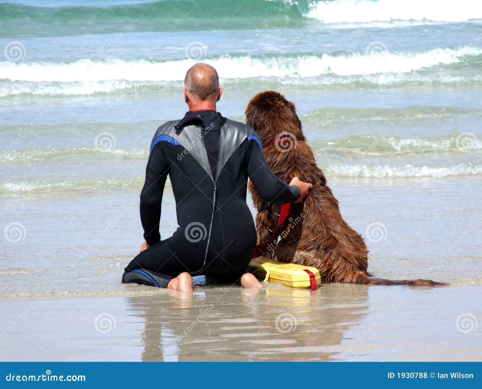 θάλασσα διάσωσης σκυλι