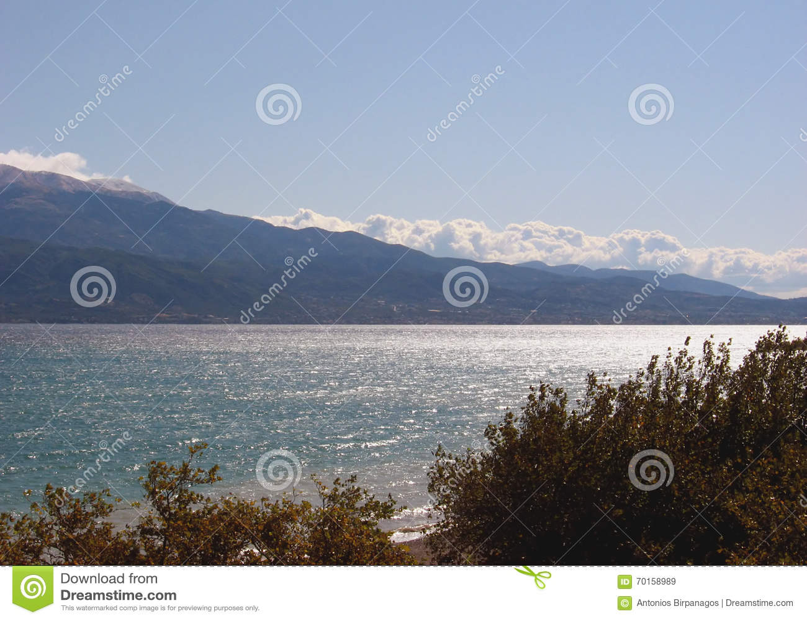 Θάλασσα και βουνό 2 δέντρων