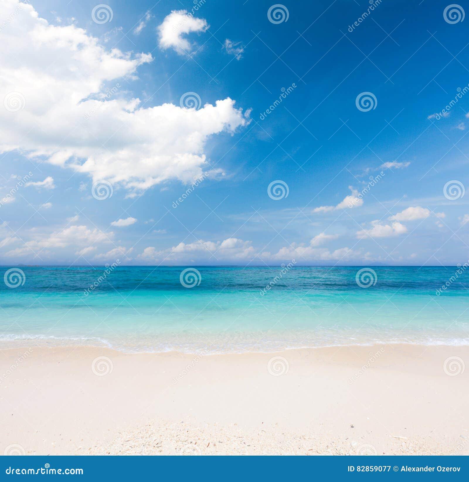 θάλασσα παραλιών τροπική