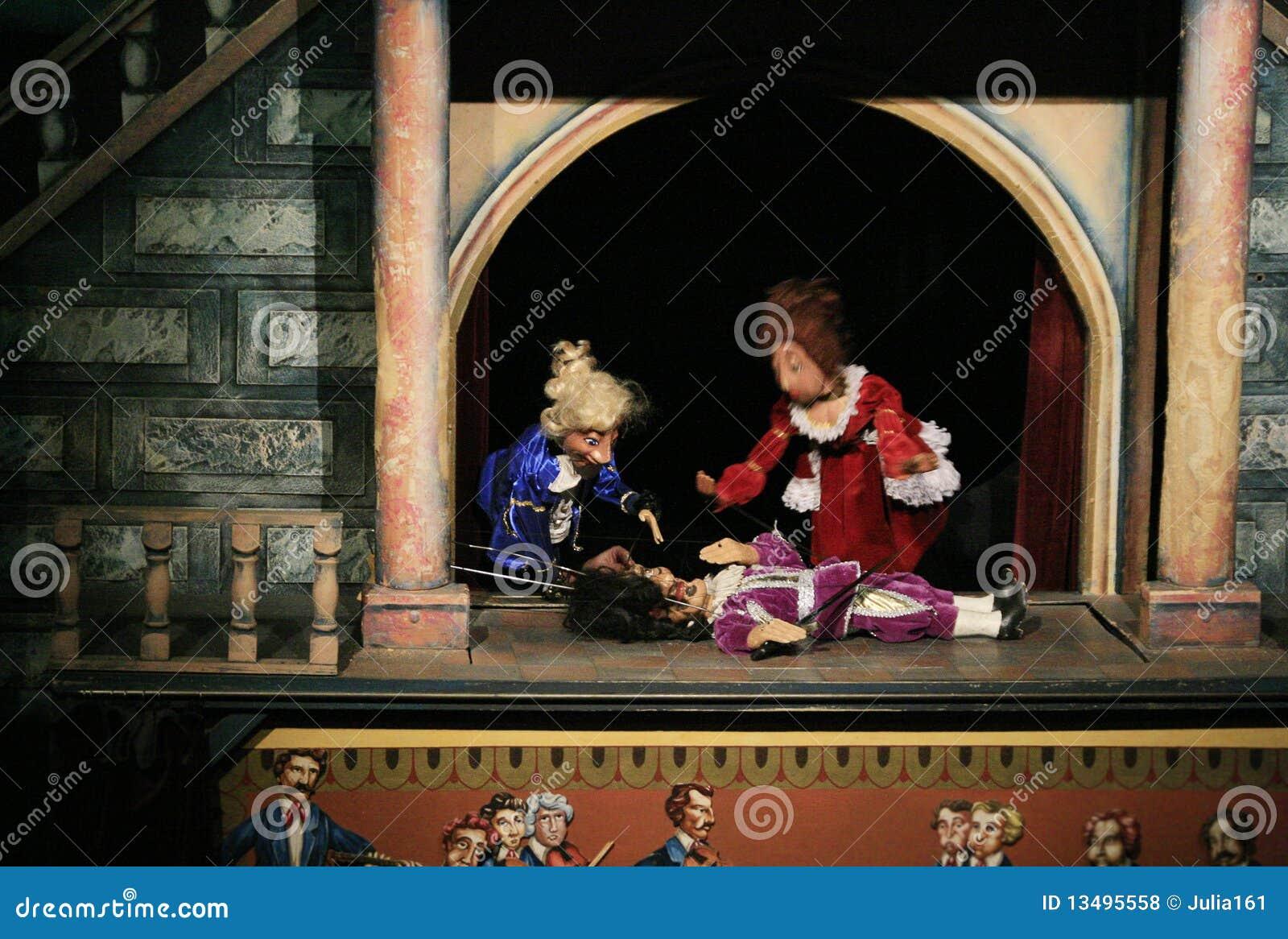 θέατρο μαριονετών