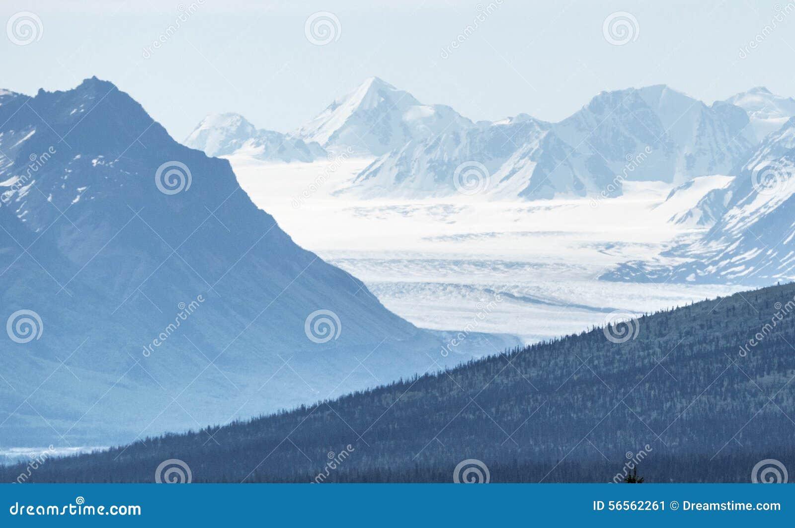 Download Θέα βουνού παγετώνων των ΗΠΑ Στοκ Εικόνα - εικόνα από διακοπές, albedo: 56562261