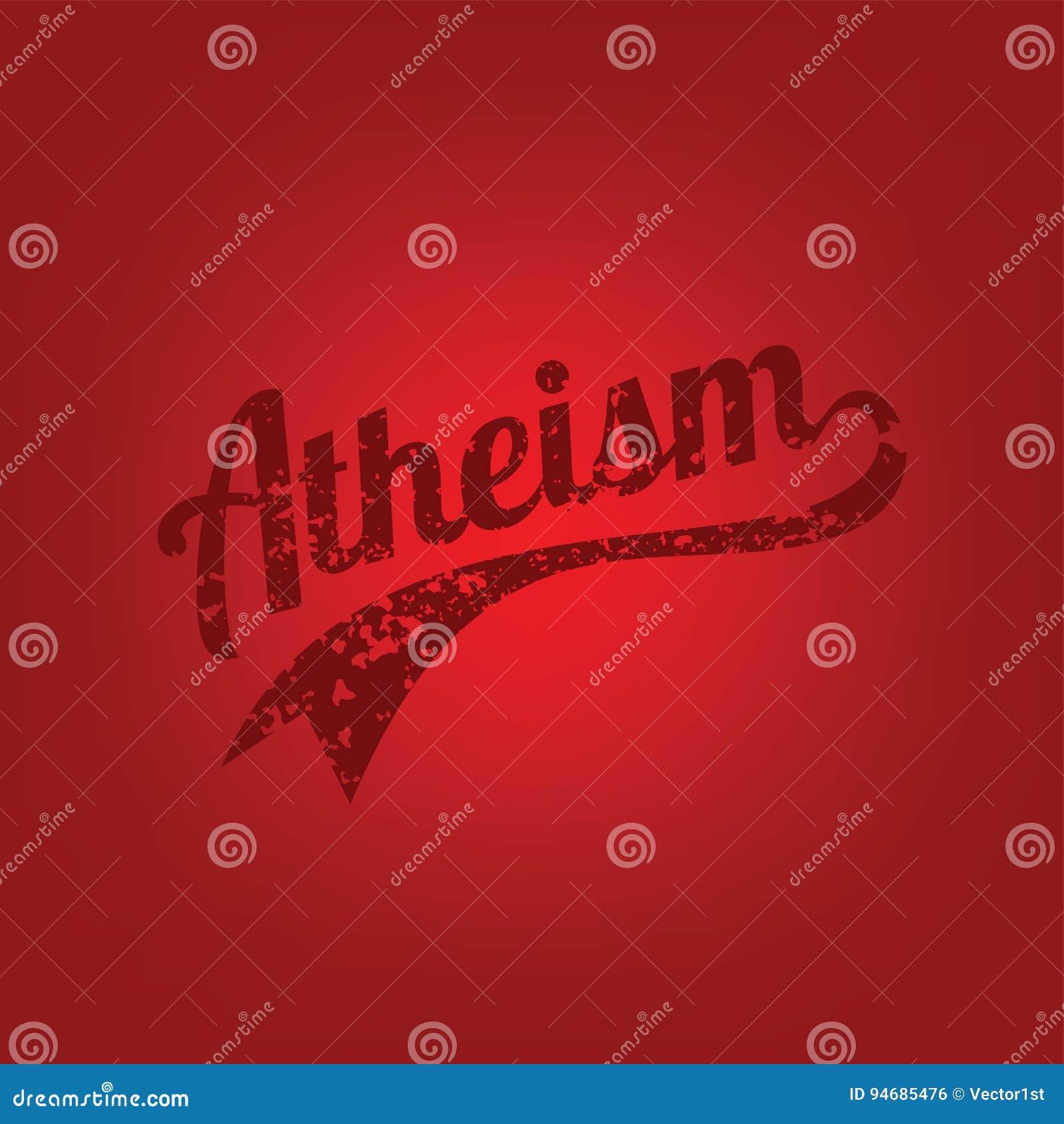 θέμα αθεϊσμού - ενάντια στη θρησκευτική εκστρατεία άγνοιας