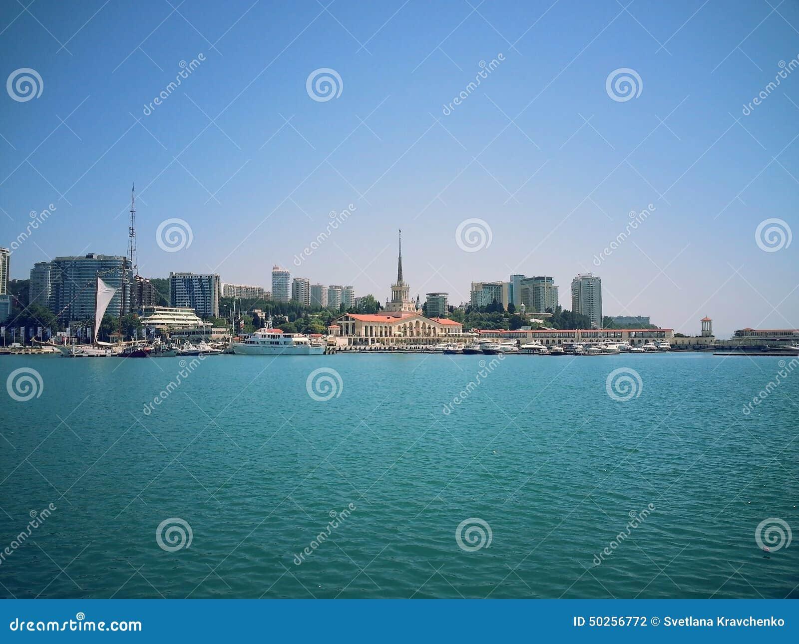 Θέρετρο Sochi, Ρωσία θάλασσας
