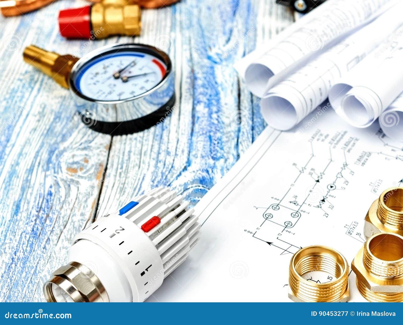 Θέρμανση εφαρμοσμένης μηχανικής Θέρμανση έννοιας Πρόγραμμα της θέρμανσης για το σπίτι