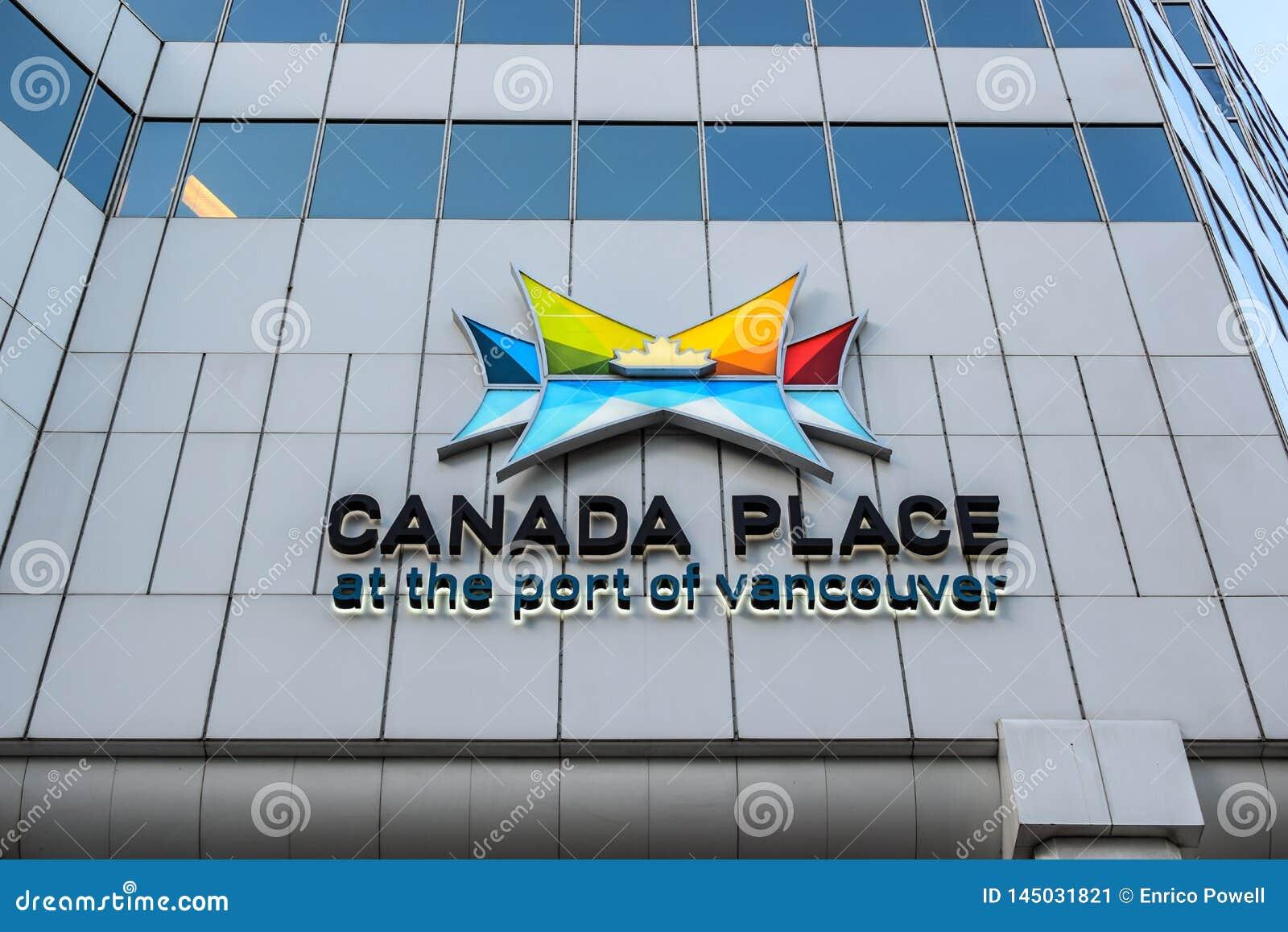 Θέση του Καναδά στο λιμένα του κέντρου Συνθηκών του Βανκούβερ - του Βαν