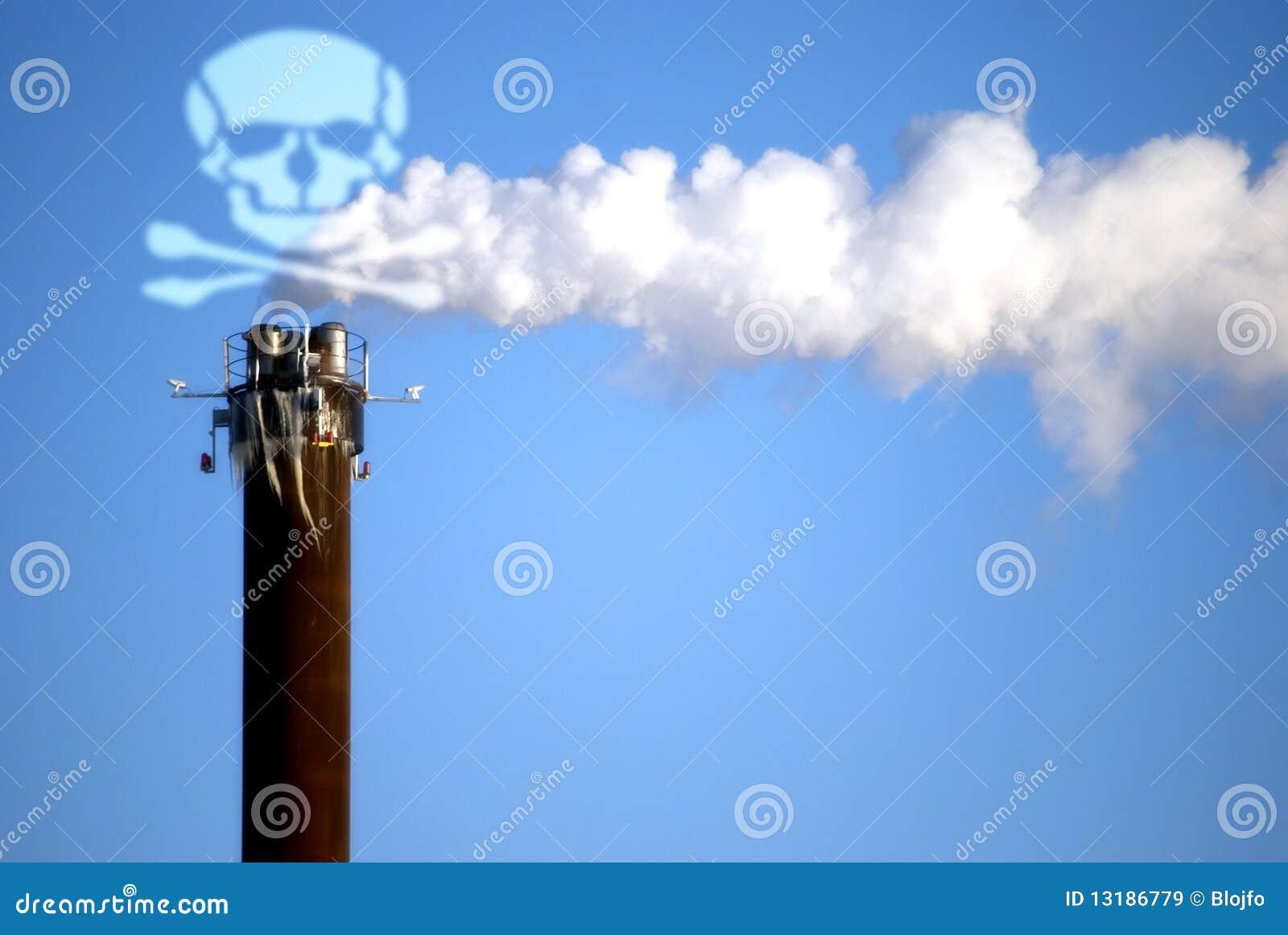 θανάσιμος καπνός