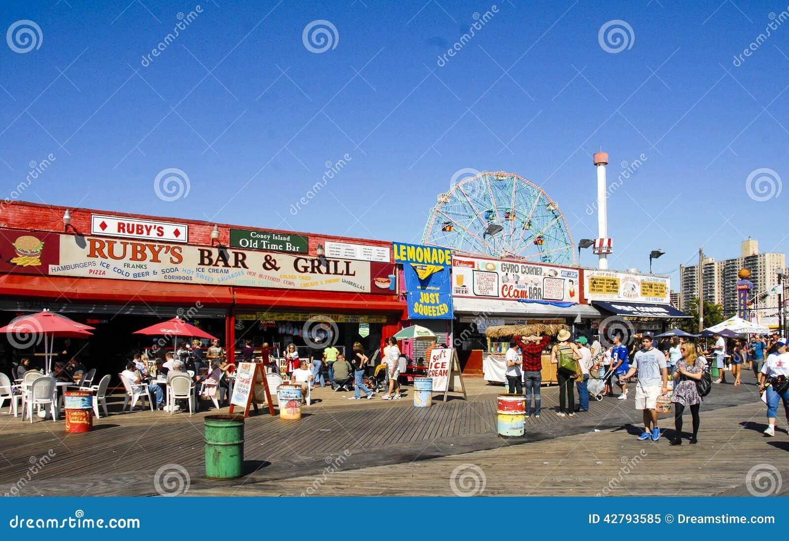 Θαλάσσιος περίπατος Μπρούκλιν, Νέα Υόρκη Coney Island