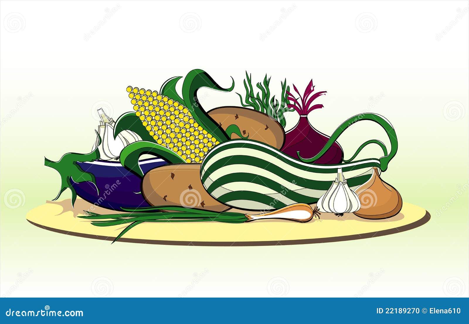 θερινά λαχανικά πιάτων