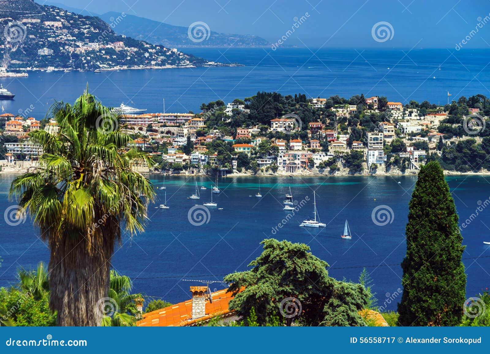 Download Θερινή ημέρα στη Νίκαια, Γαλλία, υπόστεγο D'Azur Στοκ Εικόνα - εικόνα από θάλασσα, υπαίθριος: 56558717