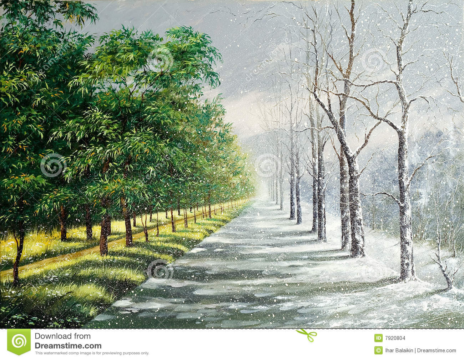 θερινός χειμώνας
