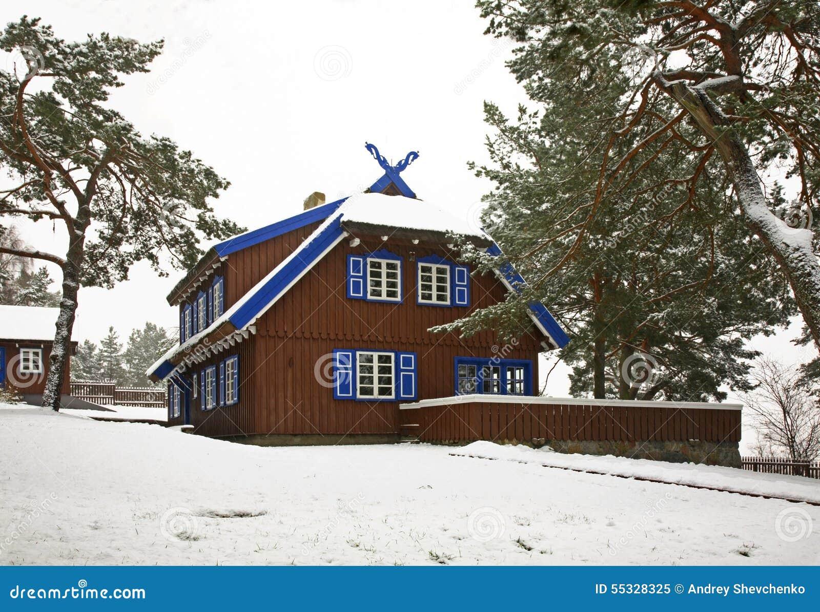 Θερινό σπίτι του Thomas Mann στη Nida Λιθουανία
