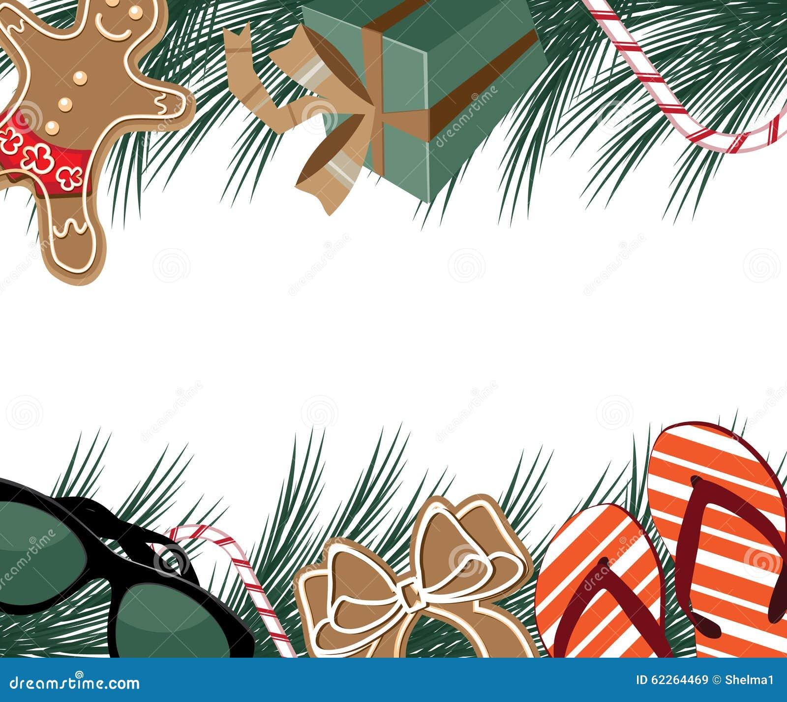 Θερμά σύνορα συνόλων τοπικής προσαρμογής Χαρούμενα Χριστούγεννας