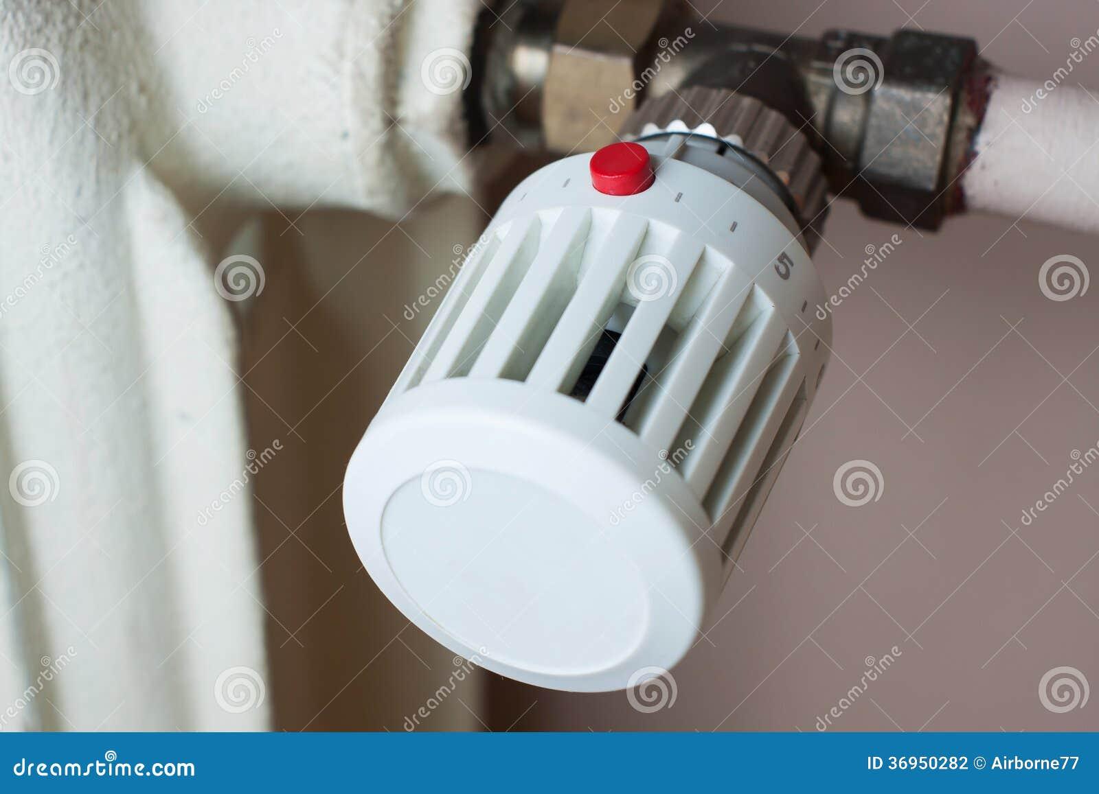 Θερμαντικό σώμα και θερμοστάτης